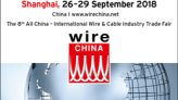 Wire Chine Fuarı – Shanghai, 26-29 September 2018