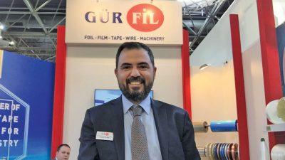 Cihan Güneş Gürfil A.Ş Genel Müdürü: Gürfil A.Ş kablo örgü ve mika bantlama makineleri ile Türkiye ve Avrupa'nın en çok tercih edilen firmalardan birisi