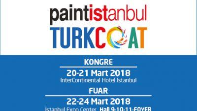 Paintistanbul & Turkcoat 2018 Fuarı