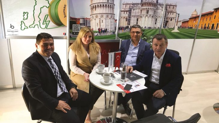 Borsan, Elcom Ukraine Fuarı'na katıldı Lider marka, fuarda fark yarattı