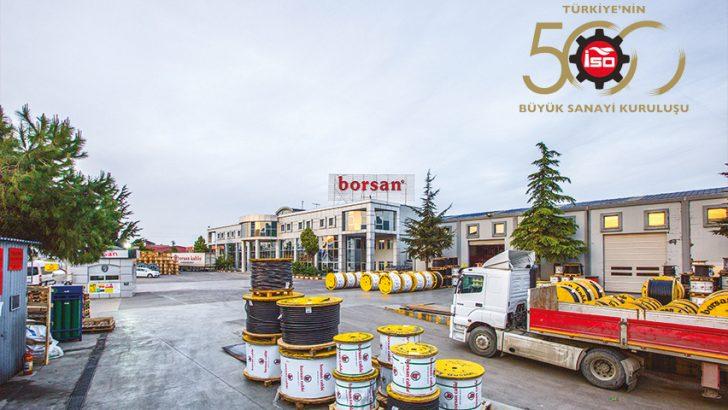 Borsan, İSO 500 sıralamasında yer aldı Bir kez daha rüştünü ispatladı