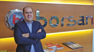 Mehmet Arbek Akay Borsan Elektrik ve Aydınlatma Ürünleri Grubu CEO'su; Borsan Elektrik ve Aydınlatma ürünlerinde ihracat payını yüzde 50 artırmayı hedefliyor