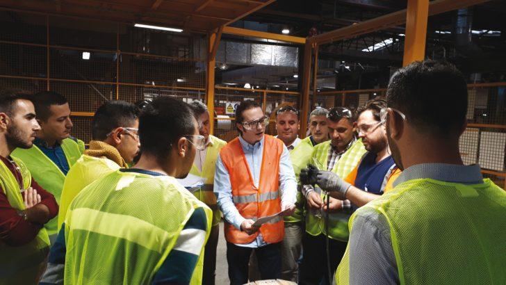Nexans Türkiye,  TCDD Teknik Heyetini Ağırladı