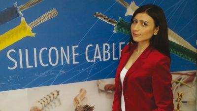 Elcab Kablo Profil Sanayi Ticaret A.Ş. İhracat Direktörü Hatice ASLANDAĞ: Silikon kablo ve beyaz eşya sektöründe ihtisalaşmaya çok önem verdik ve bu nedenle çok özel silikon kabloların üretiminde son derece iddialıyız.