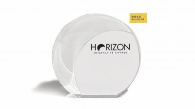 Toksel.com.tr Horizon Awards'dan GOLD Ödülünü Kazandık