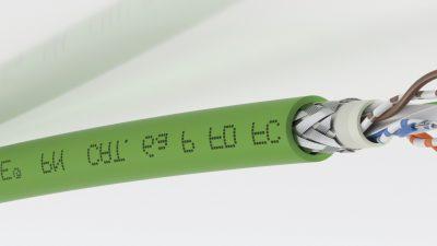 Lapp'tan Yeni ETHERLINE® Profinet Kabloları Yüksek hızlı ETHERLINE® kabloları, montajı daha da kolaylaştırır