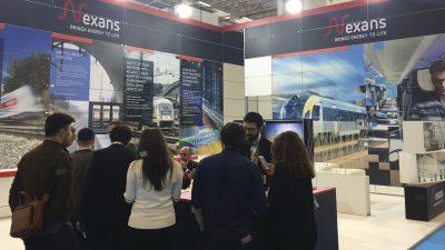 Nexans, Eurasia Rail 2019 Fuarı'nda, Ziyaretçilerinden Yoğun İlgi Gördü