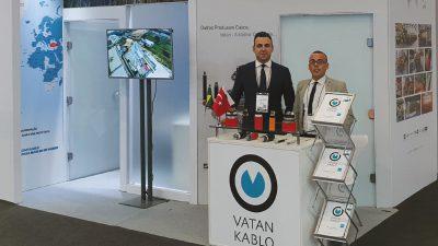 Vatan Kablo FIEE Smart Energy Brezilya 2019 Fuarında