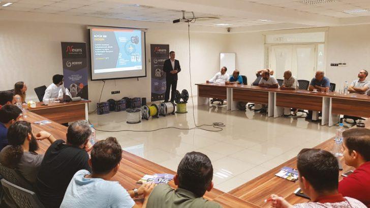 Nexans Türkiye, Patentli Yeni Makara Kiti MOBIWAY'i Gaziantep'te Yaptığı Seminer İle Tanıttı