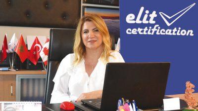 """Esra YATÇI / Genel Müdür; ELİT CERTIFICATION ailesi olarak belgelendirme ve denetim sektöründe """"Kalite asla tesadüf değildir"""" sloganımız ile fark yaratıyoruz."""