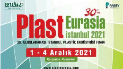 1-4 Aralık 2021 Plast Eurasia İstanbul Fuarı
