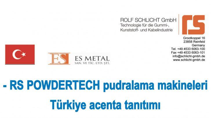RS POWDERTECH pudralama makineleri Türkiye acenta tanıtımı