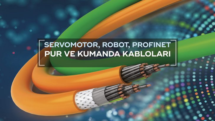 Baran Kablo Ar-Ge yatırımları ile TPU-PUR ve TPE kablolarını Türkiye'de üretmektedir.