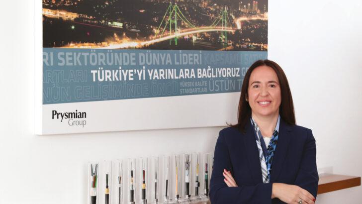 Ülkü Özcan Türk Prysmian Kablo CEO'su; Türk Prysmian Kablo sürdürülebilirlik çalışmalarını enerji verimlilik taahhüdü doğrultusunda yürütüyor