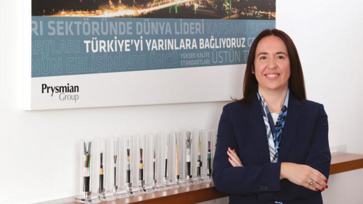 Ülkü Özcan Türk Prysmian Kablo CEO'su; Yangına karşı güvenli kablolar üreten Türk Prysmian Kablo, Afumex™ serisi kablolarla can ve mal güvenliği sağlıyor